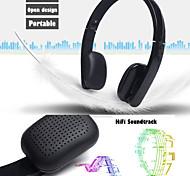Casque sans fil Bluetooth stéréo écouteurs écouteurs pliables kit mains libres avec micro pour 6puls iphone 6s