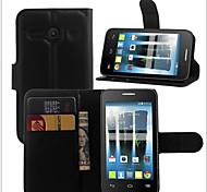 support de la carte en relief étui protecteur pour Alcatel évoluer 2 ot4037 téléphone mobile