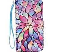 лепесток пу кожаный бумажник ремешок телефон случае для Samsung Galaxy S3 / s3mi / S4 / s4mini / S5 / s5mini / S6 / S6 край / S6 края