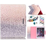 Special Design Novelty Folio Case PU Leather Coloured Drawing or Pattern Holster for iPad air 2