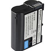 kingma EN-EL15 batería de la cámara digital para nikon d610 d600 d800 D600E D810 D800E D7000 D7100 D750 v1 mh-25