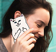 New Contempt for Cats in the Pocket of the Cat Cases for iPhone 5/5S(Assorted Colors)
