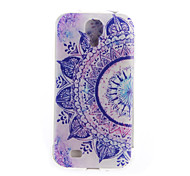 TPU Tiger Back Cover Mobile Phone Protection Shell for Samsung Galaxy S4/S4 MINI/S5/S6