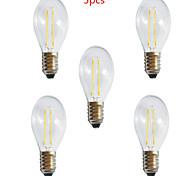 Lámparas LED de Filamento Decorativa HRY A60 E26/E27 2 W 2 LED de Alta Potencia 250LM LM Blanco Cálido / Blanco Fresco AC 100-240 V5