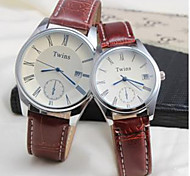 Couples Watch The Gregorian Calendar Watch Fashion And Personality