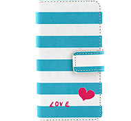 Love the rainbow  Design PU leather phone Case For LG Leon H340N