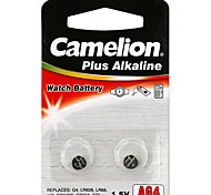 Camelion Alkaline Button Cell  Size AG4 (2pcs)