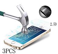 3pcs 0,33 mm gehärtetem Glas Schirmschutz mit Mikrofasertuch für iPhone 5 / 5s / 5c