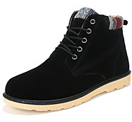 Hot Sale Men's Shoes Outdoor / Athletic / Casual  Boots Black / Blue / Brown / Yellow
