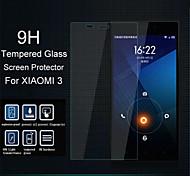 verre trempé film de protection d'écran pour xiaomi 3 mi3 mi 3
