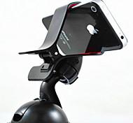 le téléphone mobile gps véhicule de soutien navigateur pvc verre paresseux support aspiration à ventouse