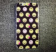 maycari® niedlich emoji transparente TPU Tasche für iPhone 6 / iphone 6s
