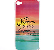 Never stop dreaming Pattern TPU Phone Case for Lenovo S90