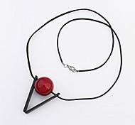 European Style Fashion V-ball Pendant Necklace