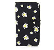 Для Кейс для Nokia Кошелек / Бумажник для карт / со стендом Кейс для Чехол Кейс для Цветы Твердый Искусственная кожа Nokia Nokia Lumia 630