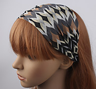 Women's European Style Pop Pattern Handmade Headband