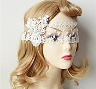Damen Spitzen / Stoff Kopfschmuck-Besondere Anlässe Masken 1 Stück