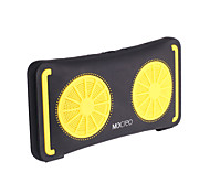 MOCREO® outdoor waterproof ultra-thin portable Bluetooth speaker lemon - yellow + black