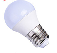 HRY® 3W E27 8XSMD5630 250LM LED Globe Bulbs LED Light Bulbs(220-240V)