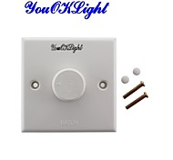 """YouOKLight 100W PVC LED Dimmer (AC200~250V) (Suitable for use in the """"YouOKLight"""" brand can adjust the light products)"""