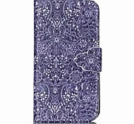 Finger Buckle Painted PU Phone Case for Galaxy J1