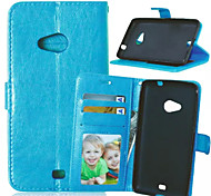 High Quality PU leather Wallet Mobile Phone Holster Case For Nokia Lumia N635(Assorted Color)
