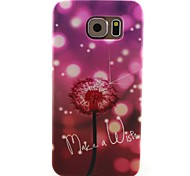 For Samsung Galaxy Case Pattern Case Back Cover Case Dandelion TPU Samsung S6 / S5 Mini / S5 / S4 Mini / S4 / S3 Mini / S3