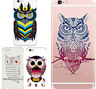 MAYCARI® The Party of Owls Transparent TPU Back Case for iPhone 6/iphone 6S(Assorted Colors)