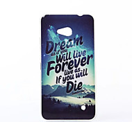 Dream Pattern TPU Soft Case for Nokia N640