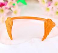 Women Fashion Jewelry Gift Orange Wings Bangle Bracelet