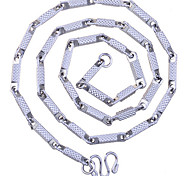 European Style Fashion Rough Surface Chain Alloy Necklace