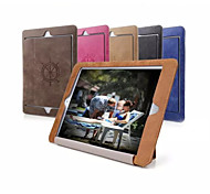 Retro Ultra Slim PU Leather Smart Auto Sleep and Wake Up Folio Case with Stand for IPad Mini 4 Cases (Assorted Colors)