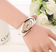 Mulheres Relógio de Moda Quartzo Couro Banda Elegantes