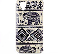 Elephant Pattern TPU Phone Case for Wiko Sunset