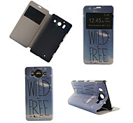 Wild Free Pattern PU Leather Full Body Cover with Stand for Nokia Lumia 950XL N950XL
