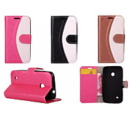 PU Leather Cover Full Body Cases Cases With Stand Wallet Mixed Color Case For Nokia Lumia 535