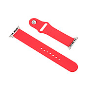 Fashion Apple Watch(38mm) Sport Silicone Strap I Watch  Band with Connector