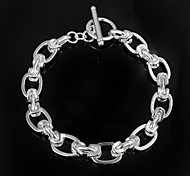 """Fashion  """"TO"""" Silver Plated Party Chain & Link Bracelets For Woman&Lady"""