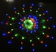 Crazy Genie 110V Colorful  Spider LED Light with 120Led Christmas/Wedding