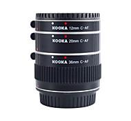 kooka kk-c68a Aluminium af Verlängerungsrohre für Canon EF&EF-S (12 mm 20 mm 36 mm) SLR-Kameras
