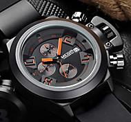 megir® 2015 Top-Mann-Quarz-Uhren mit 3 kleinen Wahlmodemarken für den Sport