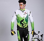 KEIYUEM Cycling Clothing Sets/Suits / Tights Men's BikeWaterproof / Breathable / Insulated / Quick Dry / Rain-Proof / Dust Proof /