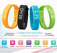 3d pedômetro inteligente pulseira esportes banda unisex aptidão para android telefone / Windos pc