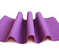 TPE Yoga Mats Non Toxic (1/4 inch) 6 mm Red Green Orange Purple Dark Blue #