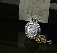 Fashion Star Moon Flip pocket watch Necklace Watches