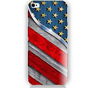 China's Flag Pattern PC Phone Case Back Cover Case for iPhone5C