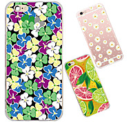 MAYCARI®Various Flowers and Fruits TPU Back Case for iPhone 6/iphone 6S(Assorted Colors)