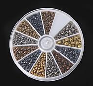 1 Box/46g Beads - di vetro