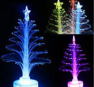Colorful LED Fiber Optic Nightlight Christmas Tree Lamp Light Children Xmas Gift