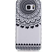 nuove ondate modello di fiore scivolare maniglia TPU soft phone per Samsung Galaxy Note 5/4/3